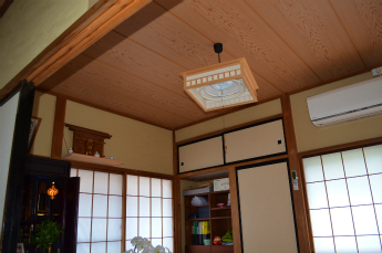 T様邸和室天井張替え後